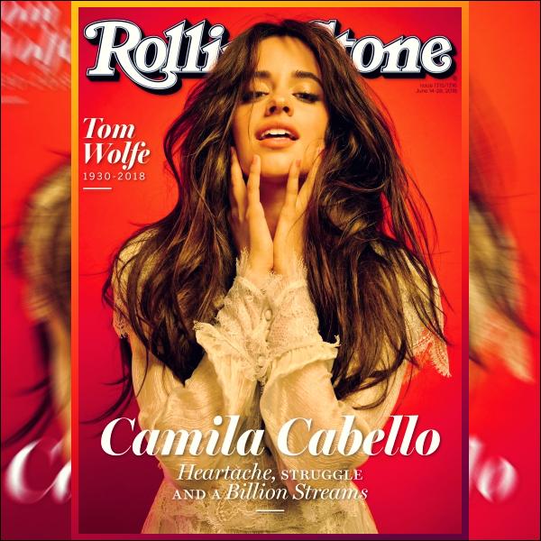 - ▬ Camila Cabello a pris la pose pour « Rolling Stone » pour une toute nouvelle édition ! -