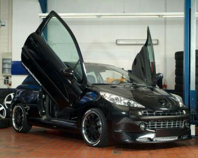 peugeot 207 tuning noir coucou c max 207 tuning. Black Bedroom Furniture Sets. Home Design Ideas