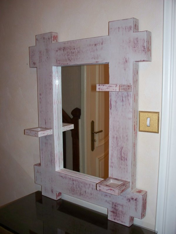 miroir en carton ondul u00e9