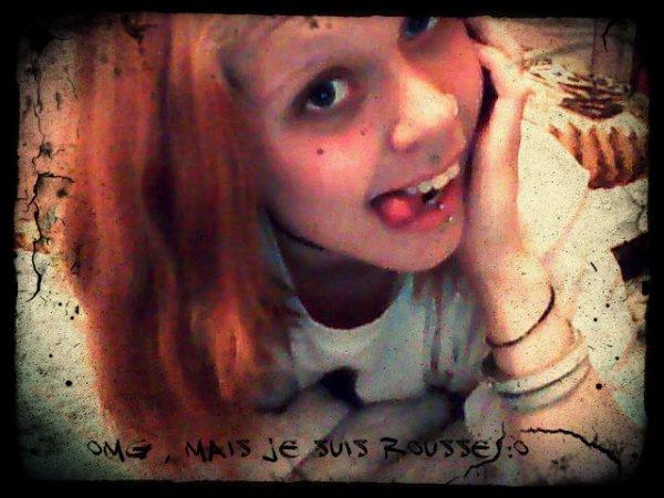 """avant je voulais être blonde , mais sa c'était avant     >_<"""""""