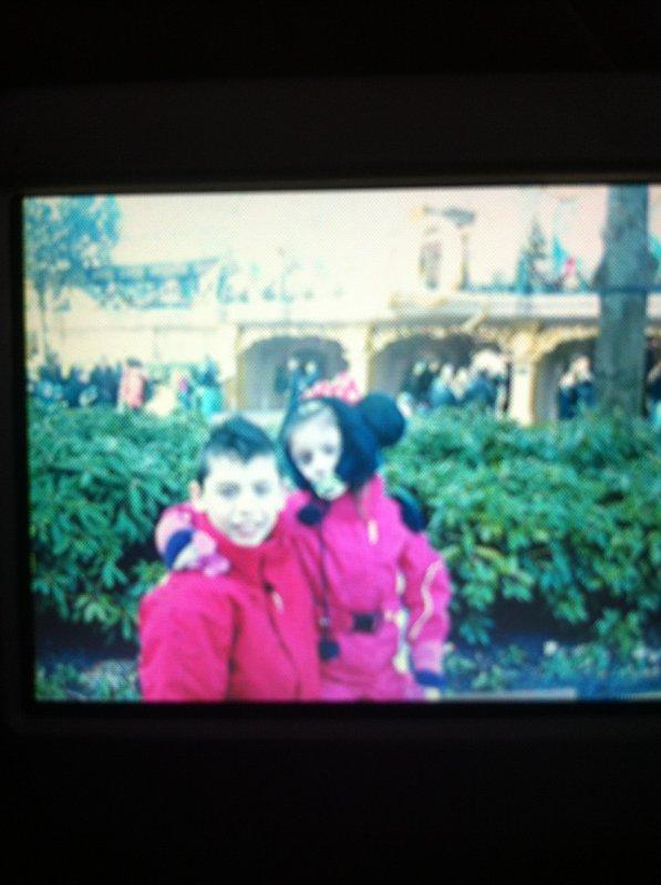 Moi et ma seur a Disney
