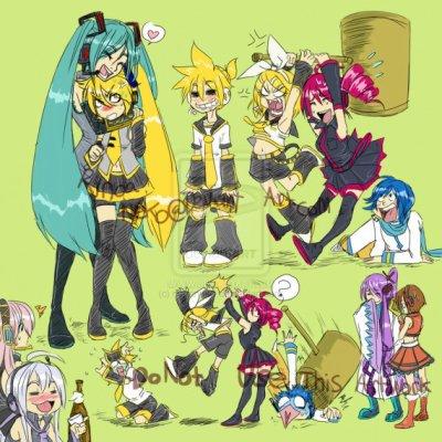 Vocaloid, Utauloid, Roboloid, Macloid, Voyakiloid, Jokaloid, Mixauloid ...