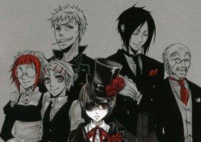 Black Butler ( ou Kuroshitsuji )