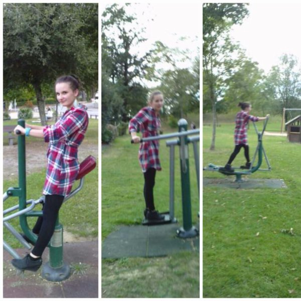 moi en train de tester les jeux de muscu , du plan deau jkiff:D