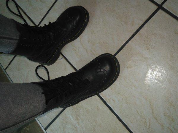 Vous portez quoi comme chaussures le plus souvent ?
