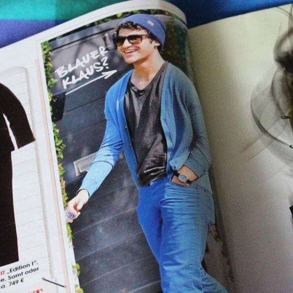 """♥ Notre cher petit Darren est dans le magazine """"InStyle Magazine"""""""