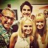 Darren au backstage au concert de Kristin Chenoweth au Hollywood Bowl le 23 août dernier