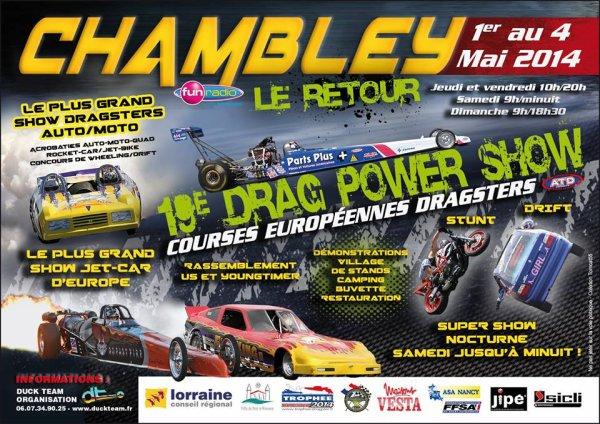 Dragster Power Show de  Chambley 2014