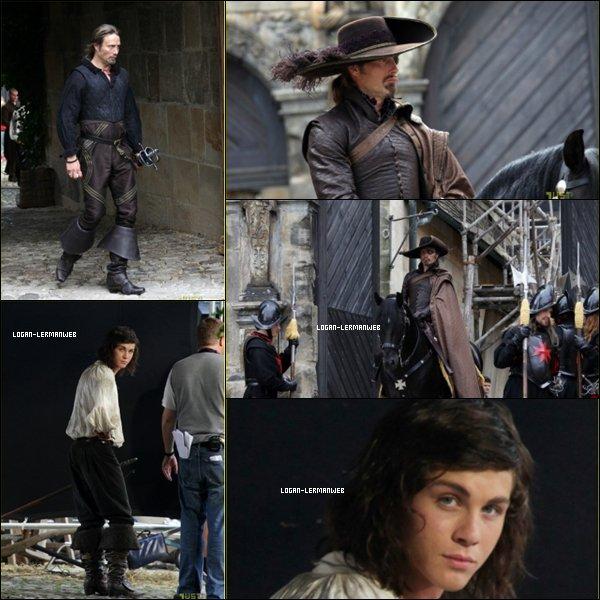 . 26/08/10:Logan sur le set des 3 mousquetaires+les premières images..  .
