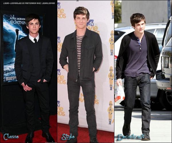 . En 2010,Logan est passé par beaucoup de styles.Mais lequel lui va le mieux?  .