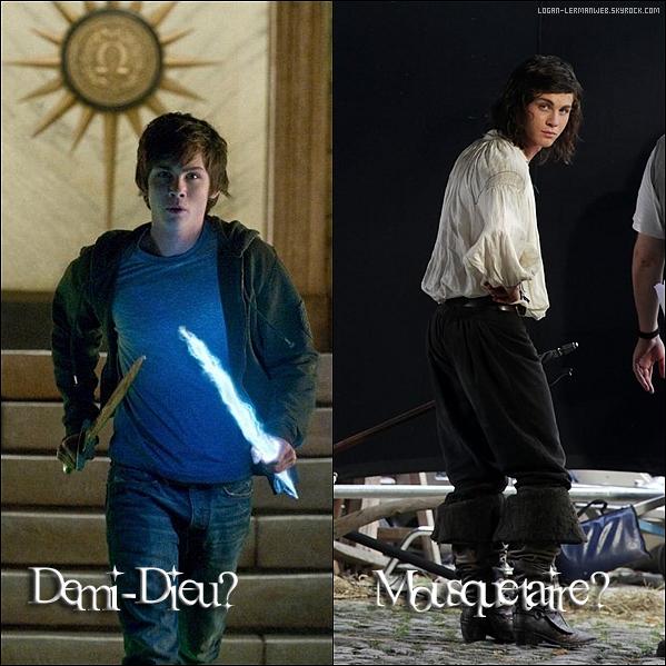 Tu préfère Logan en Demi-Dieu ou en Mousquetaire?