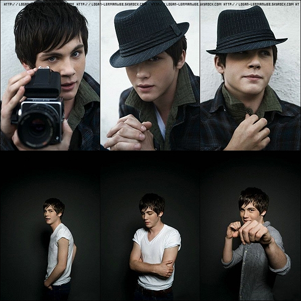 Flashback:Photoshoot'  2009: Logan photographier par Eric Williams.Pas mal le shoot !