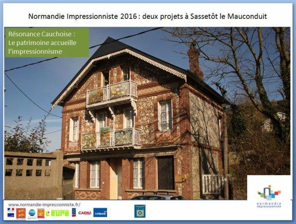 Normandie Impressionniste 2016 : C'est parti ! à Sassetot-le-Mauconduit