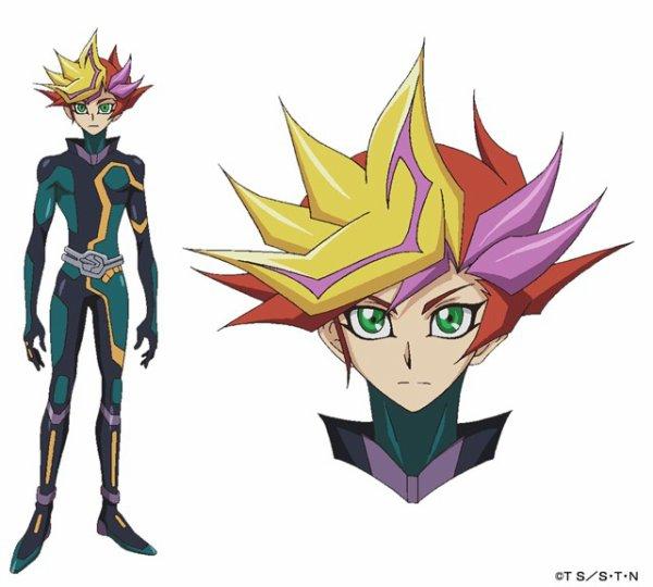 Petite révélation sur le design de Yusaku et d'un mystérieux personage.