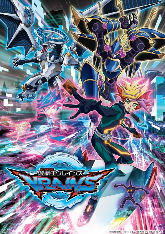 Heeeeyy Heeeeyy les fans quelques petites news sur VRAINS.