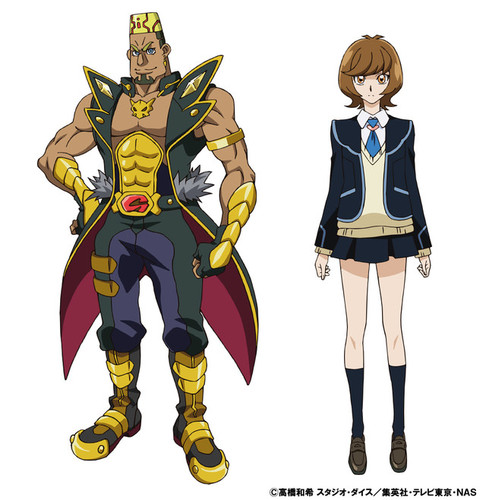 Vidéos Promo Yu-Gi Oh! VRAINS et nouveaux personnages.