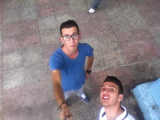 Selfi avec mon poto :p