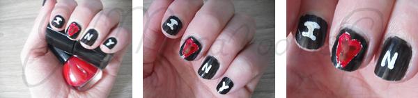 Tutoriel nail art New York réalisé par EatMacaroons©