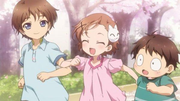 Haru, Taku et Chiyu