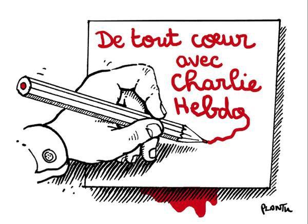 Soutient à Charlie Hebdo