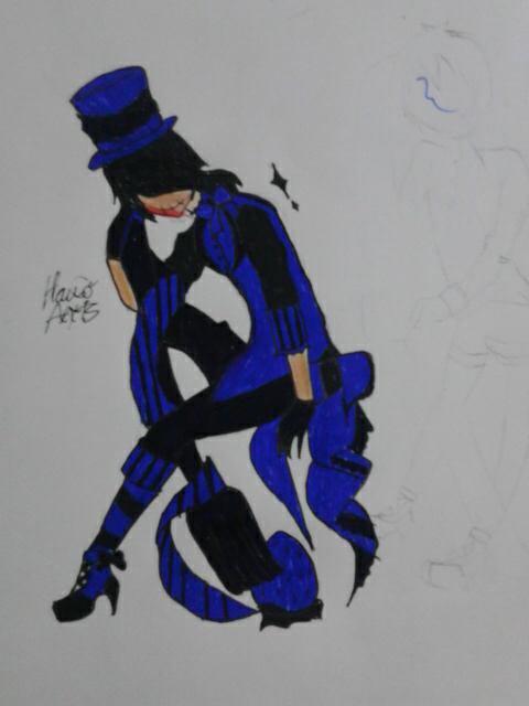 Boy Black and Blue
