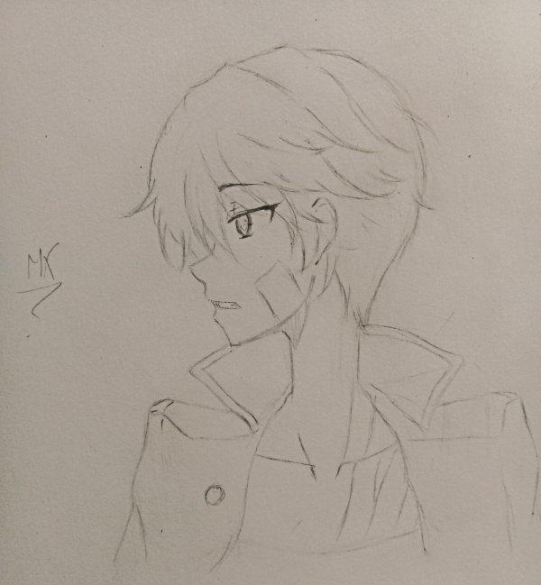 """Un garçon qui ressemble beaucoup à Kirito de SAO(ce qui n'était pas du tout voulu=w="""")"""