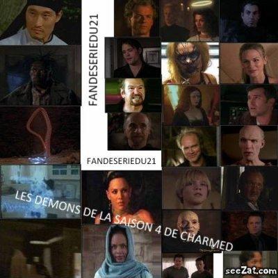 voici tout les mechants ( demons ) de la saison 4 ( montage fait pars auxmillebijoux )