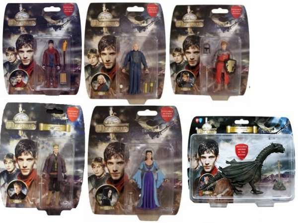 Figurines de Merlin