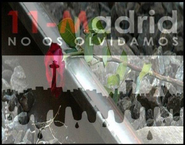 EN MEMORIA DE LAS 192 VICTIMAS MORTALES DEL 11-M EN MADRID