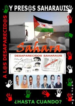 ¿Hasta cuando?...de la web de Sáhara-Almería