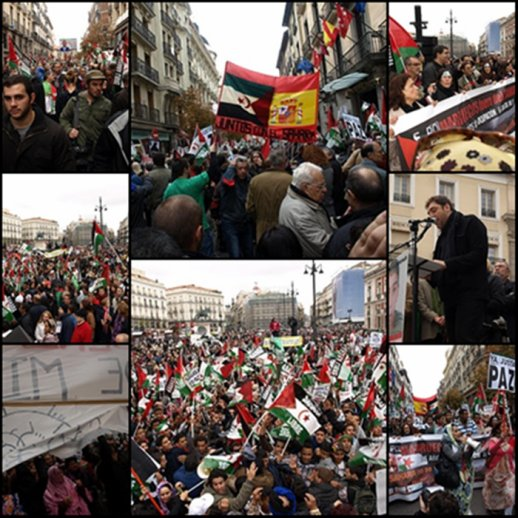 España con el pueblo saharaui. El gobierno español debe tomar nota y no excusar el genocidio del pueblo saharaui