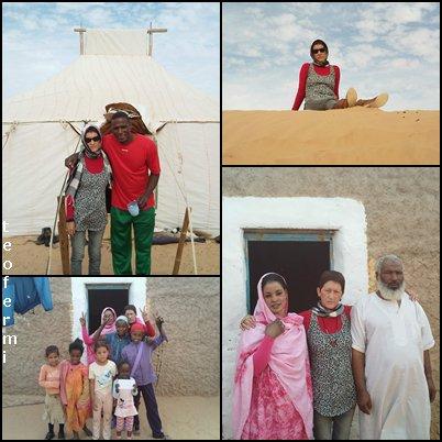 Un año más con mi familia saharaui