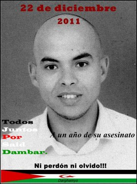 Convocatoria: Concentraciones para exigir justicia para Said Dambar en el primer aniversario de su asesinato
