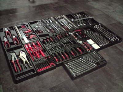 Servante a outils compl te 200 pi ces suite blog de - Servante a outils complete ...