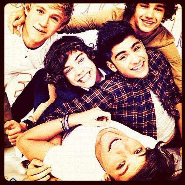 One Direction, plus qu'un groupe à mes yeux *0*<3