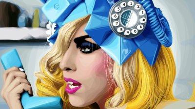 "Téléphone ""Lady Gaga et Beyoncé"""