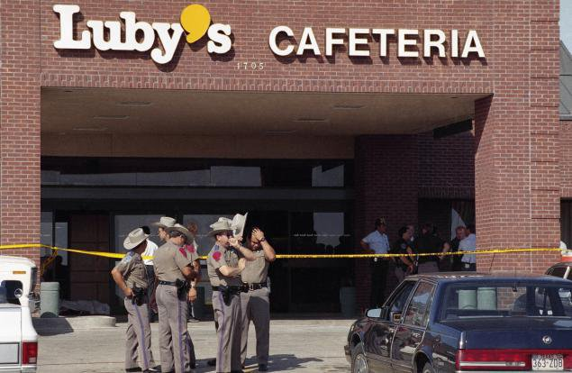 Tuerie de la Cafétéria Luby's