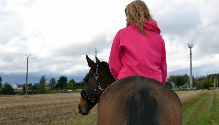 _ Monter un cheval, vous donne un goût de liberté._