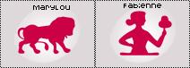 Horoscope de Fabienne Carat & de Marylou ( la Weebmiss )
