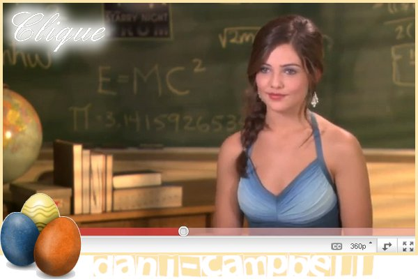 """Vidéo d'une interview pour """"prom"""".Danielle est avec ses co-Stars Nolan Sotillo &  Cameron Monaghan. Danielle est vraiment très belle et très souriante  J'adore! Ton avis ?"""