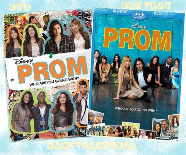 Voici la pochette du DVD Prom et aussi celle du Blu-ray ! J'aime beaucoup celle du blu-ray, on voit une nouvelle photo dessus =) Ton avis ?