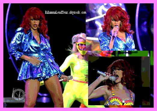 30/06&02/07/11 --> Loud Tour At Oakland And Las Vegas