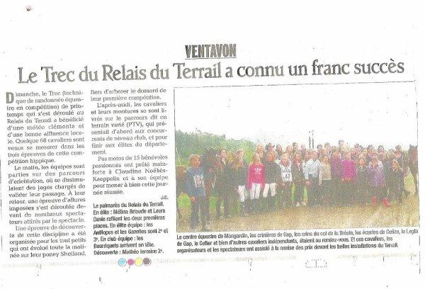 Annonce / Info / Mise à jour / Les Nouvelles du Terrail.