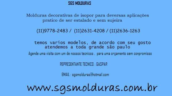 VISITE NOSSO SITE ....WWW.SGSMOLDURAS.COM.BR