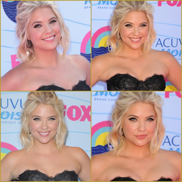 ;  22/07/12 - Ashley, comme toutes les jeunes stars, était présente à la cérémonie des Teen Choice Award 2012. ;