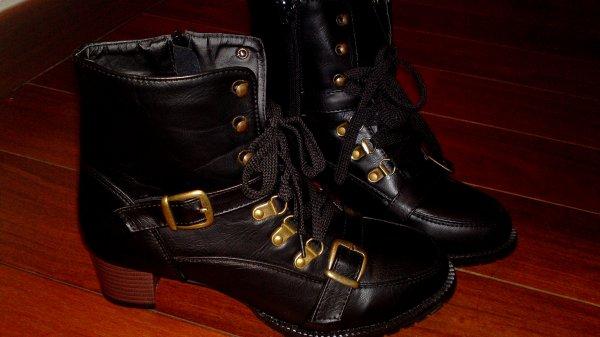 Bottes noires * t38 . -  30fdpc