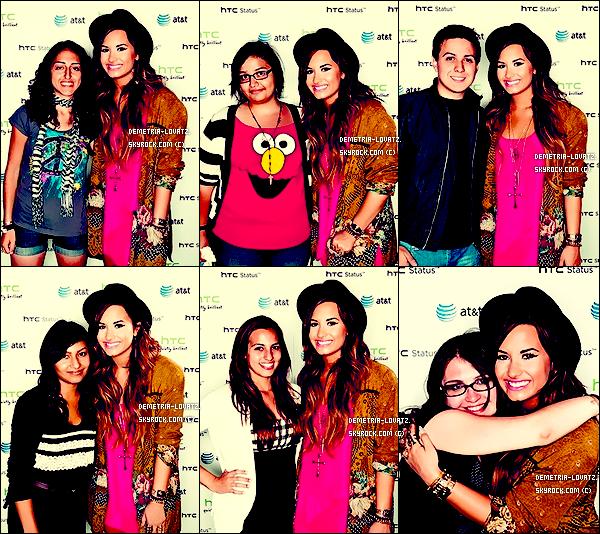 25/08/11 : Demetria Lovato, a été aperçu faisant du vélo avec une de ces nombreuses amies dans Los Angeles... 24/08/11 : Demi était avec des amis pour un dîner d'anniversaire. D. a posté une vidéo ou elle remercie ses fans.