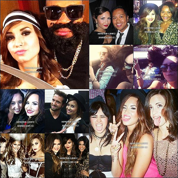 Demi Lovato a posté récemment sur twitter de nouvelles photos où l'on voit qu'elle a changé de coiffure !   + Une avalanche de photos personnelles de la belle Demi Lovato avec quelques ami(e)s et sa famille... Demi est magnifique !