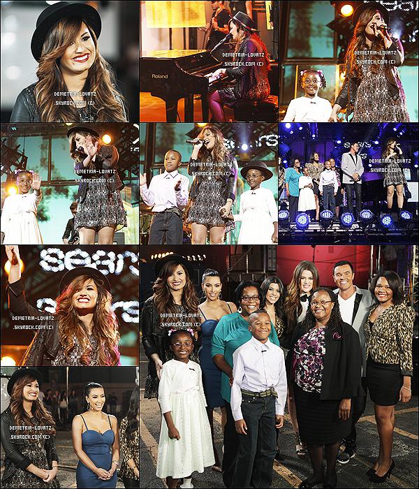 D. Lovato a participé à l'émission « Extreme Makeover : Home Edition » qui sera diffusée le 02/12 aux Etats-Unis.  Par cette occasion Demi Lovato a fait une performance sur « Skyscraper » (vidéo). Alors... Que penses-tu de sa prestation ?