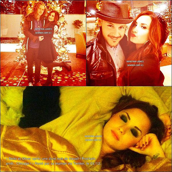Découvrez quelques photos personnels de la très belle Demi Lovato assez récentes avec des amis.